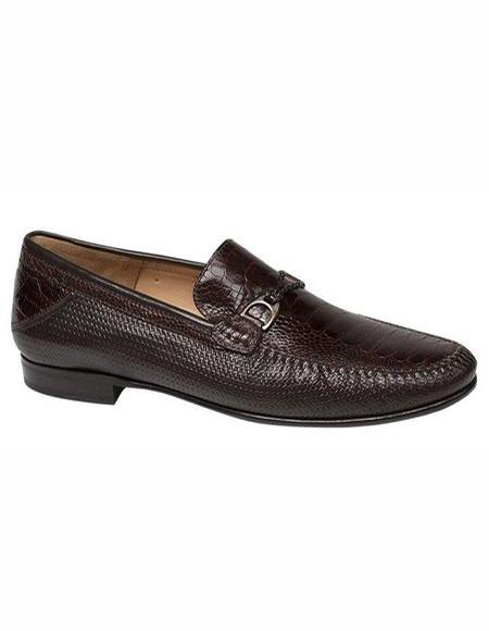 Mens Black Slip On Shoes Loafer Style