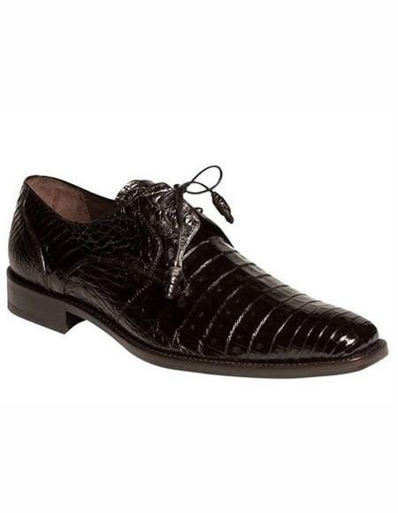 Mens Black Lace Up Shoe
