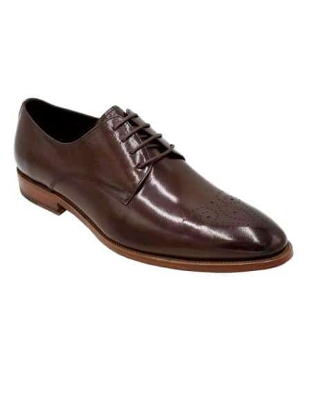 Mens Dress Shoe Brown Unique Zota Shoe