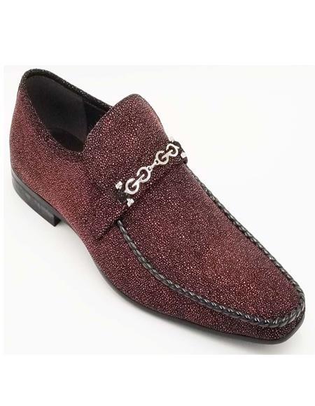 Mens ZOTA Shoes - Leather Shoes - Fashion Dress Shoe - Slip On Shoe