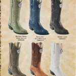 JToe Genuine Caiman Hornback Mens Cowboy Boots Diff. Colors/Sizes