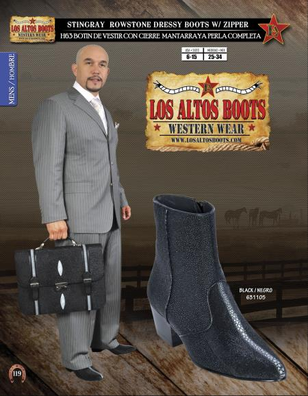 JToe Stingray Mens Dressy Western Cowboy Boot Diff. Colors/Sizes