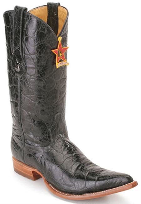 Kenya Black Los Altos Mens Cowboy Boots Western Classics Riding