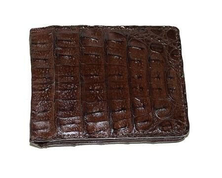 Los Altos Hornback Wallet Brown