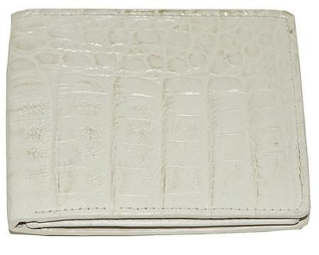 Los Altos Hornback Wallet Winter White