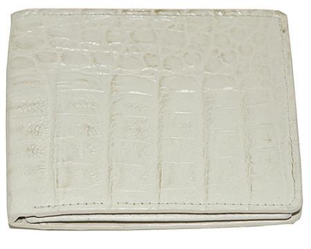 Los Altos Hornback Wallet Winter White