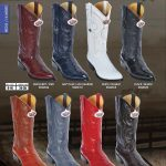 Los Altos JToe Genuine Eel Mens Western Cowboy Boots Diff.Colors/Sizes