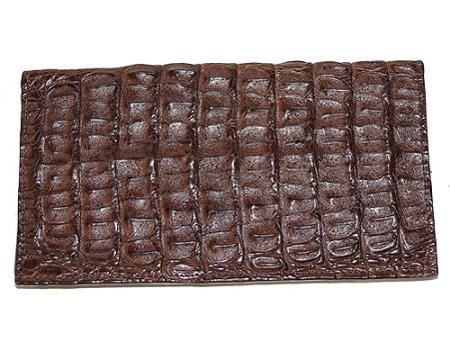 Los Altos Large Hornback Wallet Brown
