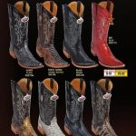 Los Altos Mens 3X Toe Genuine Python Cowboy Western Boots Diff. Colors
