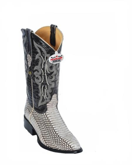 Los Altos Natural Cobra Cowboy boots 257