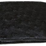 Los Altos Ostrich Wallet Black