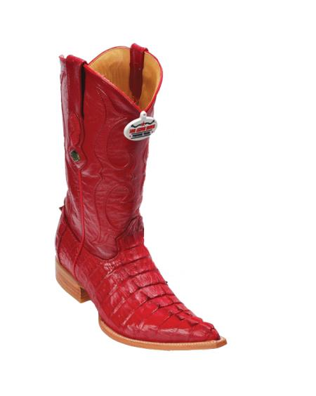 Los Altos Red Caiman TaCowboy Boots