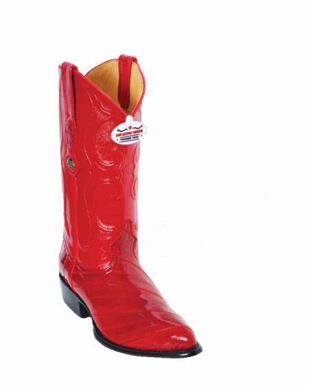 Los Altos Red Eel Cowboy boots 32