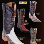 Mens 3X Toe Genuine Caiman TaCowboy Western Boots Diff. Colors