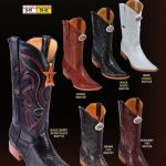 Mens 3X Toe Genuine Teju Lizard Cowboy Western Boots Diff. Colors