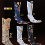 Mens 9X Extreme Toe Denim w/ Patches Cowboy Western Boots Diff.Colors