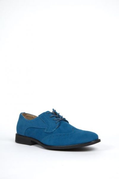 Mens blue dress shoes