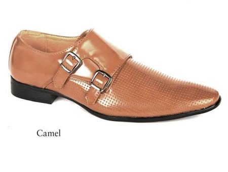 Mens dress Camel shoes