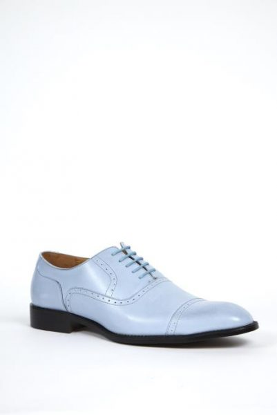 Mens french blue dress shoes