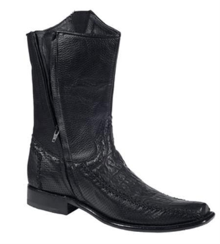 Mens Genuine Black Shark Casual Boots 317