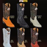 Mens JToe Alligator TaPrint Cowboy Western Boots Diff. Colors