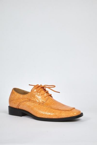Mens peach dress shoes