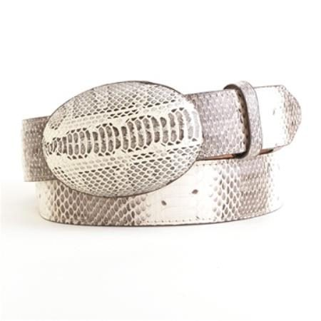 Natural water snake belt