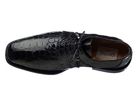 Ferrini Handcrafted World Best Alligator ~ Gator Skin Black/Navy /Chocolate