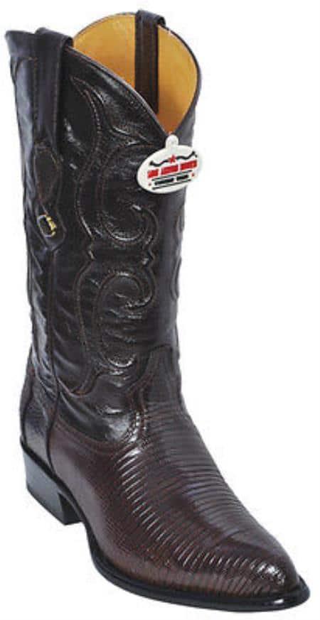 Ring Lizard Vintage Black Los Altos Mens Cowboy Boots Western Classics Fashion 230