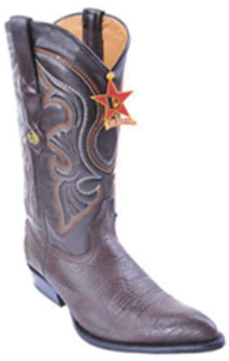 Smooth Caiman Vintage Riding Brown Los Altos Mens Western Boots Cowboy Classics