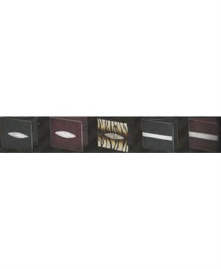 Stingray BiFold Wallet s Black Single Eye 107
