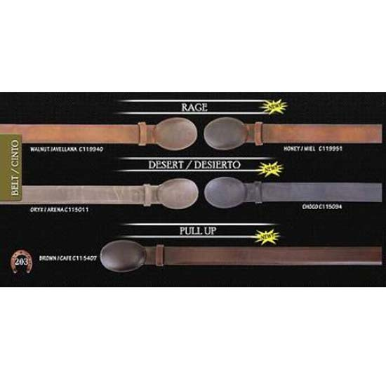 Vergel and Kenya Design Mens Cowboy Belt 1.5inch Width