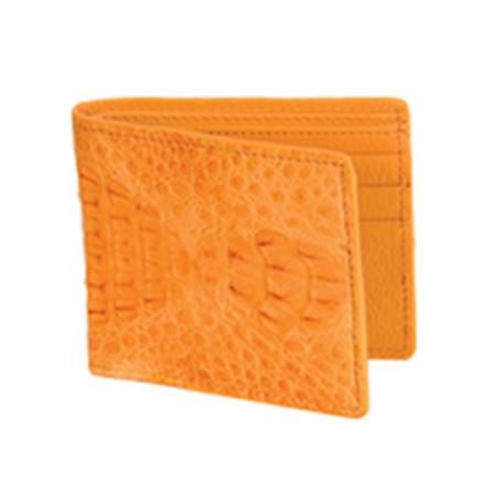Wild West Boots Wallet Buttercup Genuine Exotic Caiman