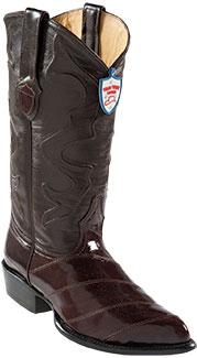 Wild West Brown Eel Cowboy Boots 217