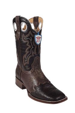 Wild West Brown Shark Wild Rodeo Toe Boots 277
