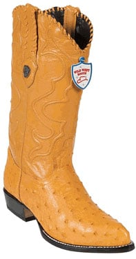 Wild West Buttercup Full Quill Ostrich Cowboy Boots 517