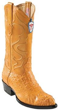 Wild West Buttercup JToe Caiman Hornback Cowboy Boots 457