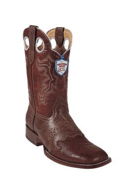 Wild West Cognac Shark Wild Rodeo Toe Boots 277
