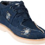 Wild West Denim Casual Shoes Blue Denim 187