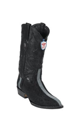 Wild West JToe Black Rowstone Finish Boots 457