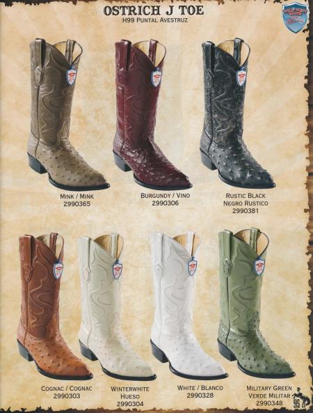 Wild West Men/'s 6X-Toe Eel//Deer Cowboy Western Boots Different Colors