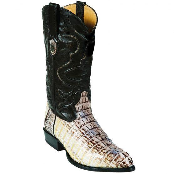 Wild West JToe Natural Caiman TaCowboy Boots 457