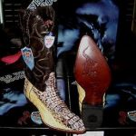 Wild West Natural Genuine Crocodile Western Cowboy Boot (D)