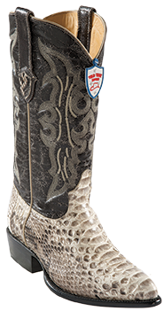 Wild West Natural Python Cowboy Boots 287