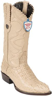 Wild West Oryx JToe Caiman Hornback Cowboy Boots 457