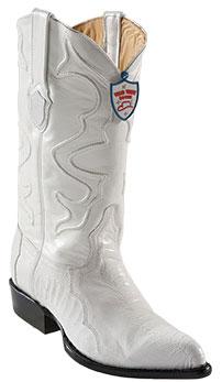 Wild West White Ostrich Leg Cowboy boots 317